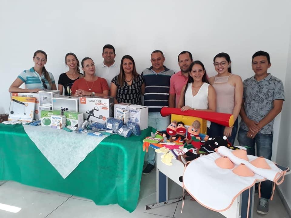 Em Itapororoca a Saúde avança com ações e aquisições de materiais para o melhor atendimento dos usuários do SUS.