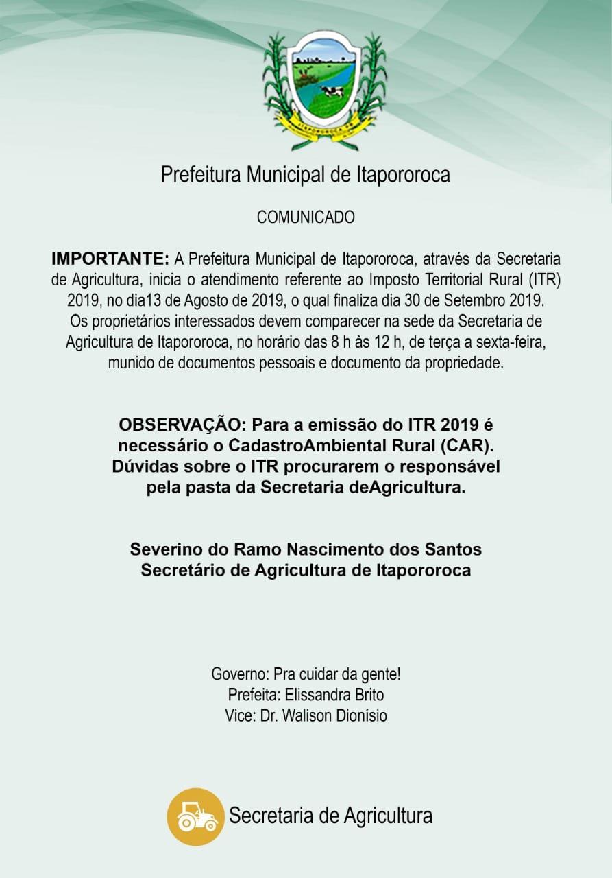 Secretaria de Agricultura Informa!