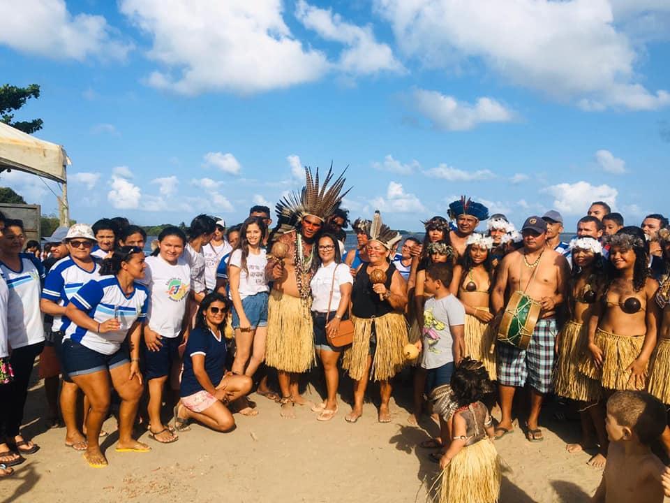 Alunos do EJA de Itapororoca-PB participam de Aula de Campo.