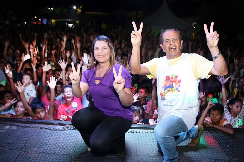 PREFEITURA PROMOVE MAIOR FESTA DAS CRIANÇAS DA HISTÓRIA