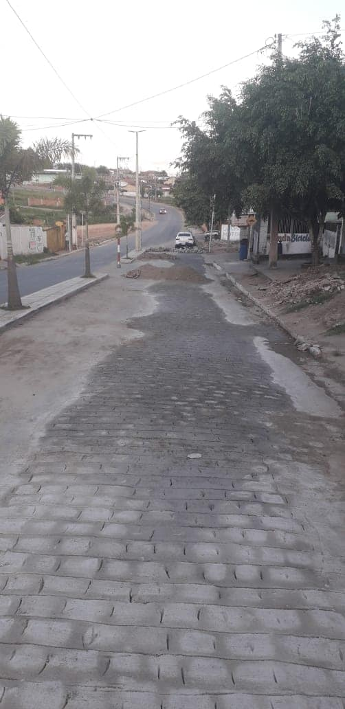Recuperação/manutenção da pavimentação da Rua. José Rodrigues de Carvalho