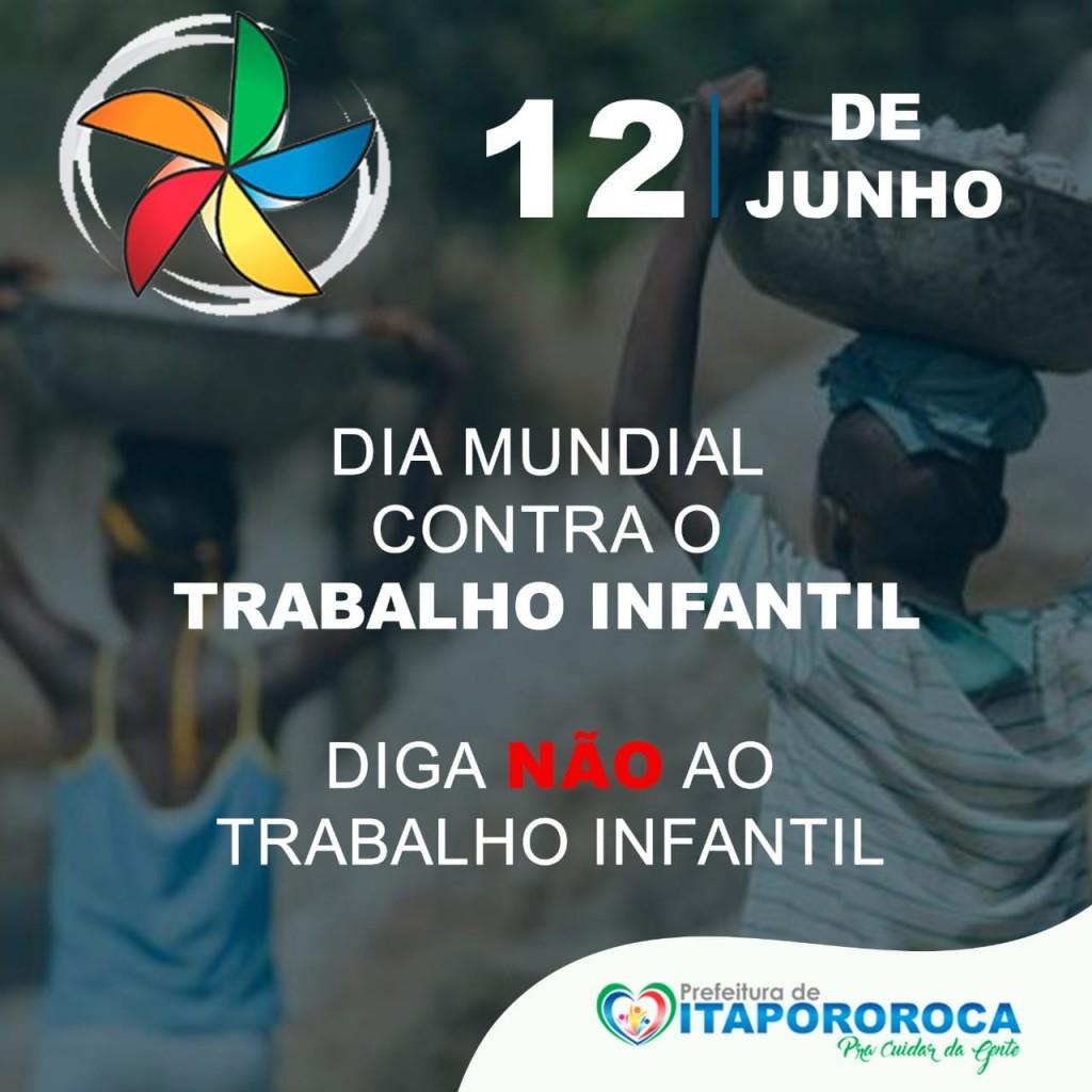 """Prefeitura de Itapororoca-PB, através da Secretaria de Assistência Social realiza ação virtual """"orientações"""" em alusão a"""