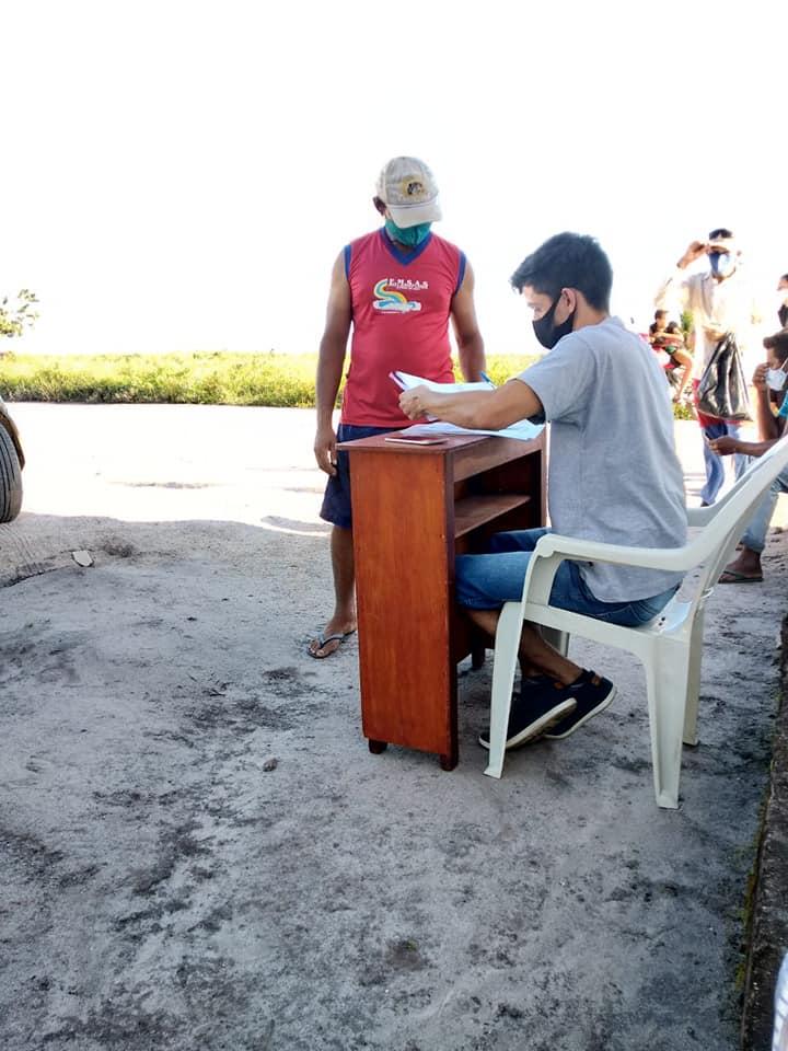 """Entrega Kits de alimentos para integrantes da Associação dos Catadores de Recicláveis de Itapororoca """"Ita Recicla"""" e Ass"""
