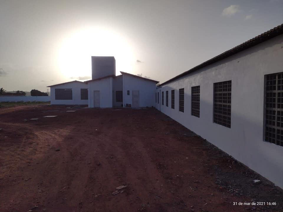 Fase de conclusão da Escola da Comunidade de Cipoal